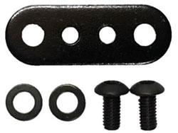 RC926 Aluminum Wide Bumper Plate Black Red For YD2 YD4 GALM #KN-YD03BKRD